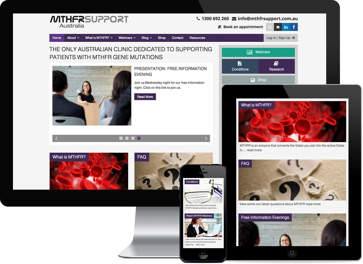 MTHRF-Support